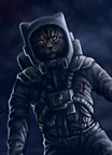 Cosmonaut Cat