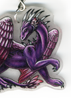 Various dragon keychains